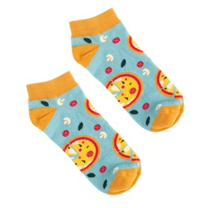 Pizza Low Socks 42-46